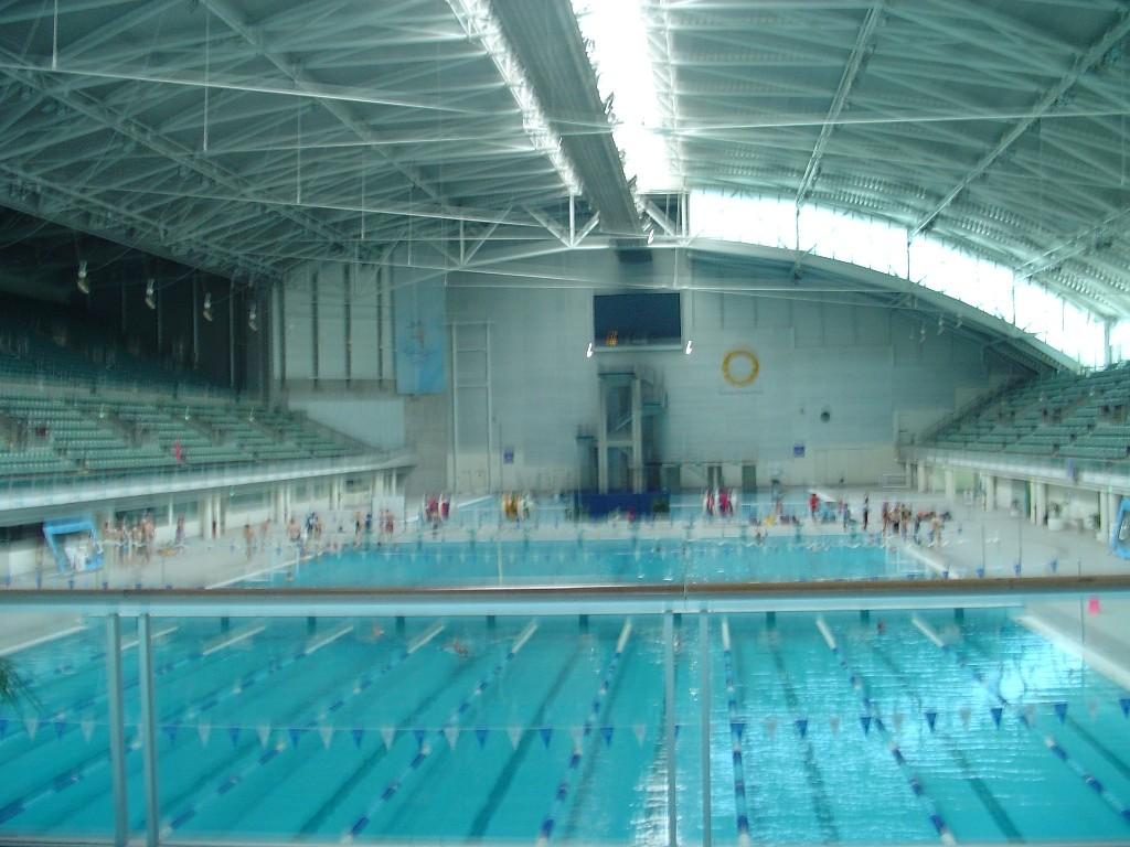 Olympic Swimming Pool Wallpaper - WallpaperSafari