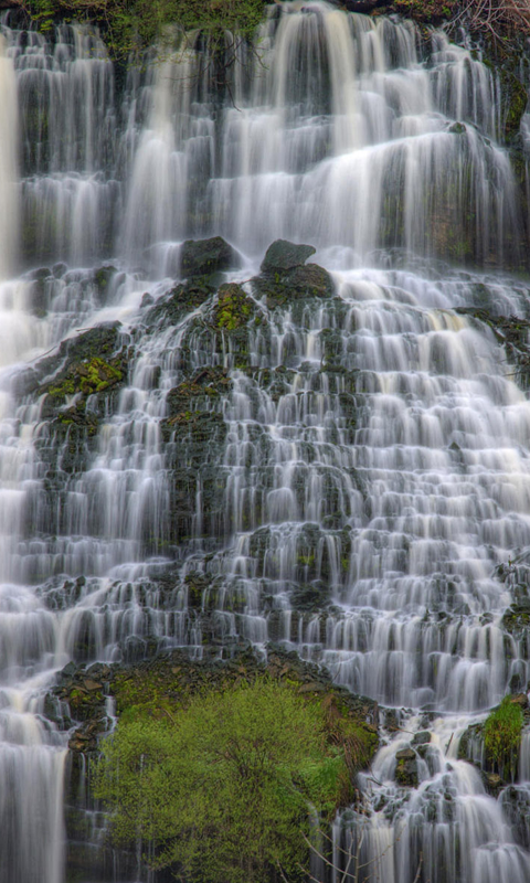 Waterfalls HD Wallpapers Live wallpapers HD for Android 480x800