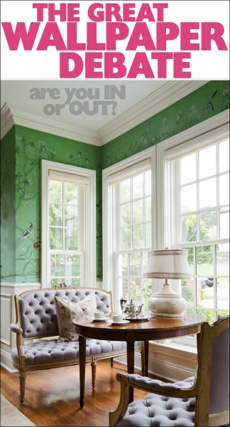 The Great Wallpaper Debate   How to Nest for Less 324x600