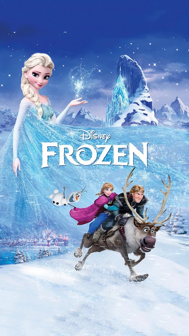 frozen disney iPhone 5s Wallpaper Download iPhone Wallpapers iPad 640x1136
