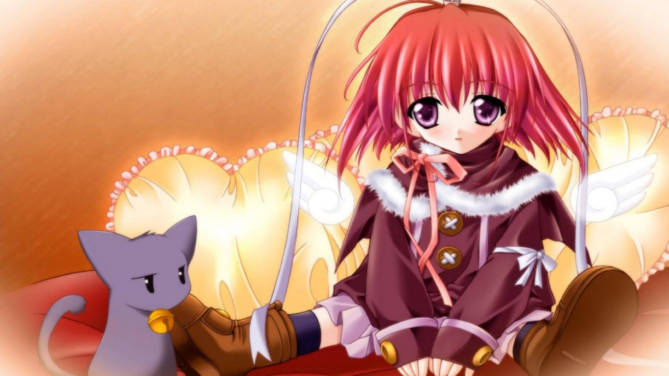 Wallpaper anime cute wallpapersafari - Cute anime girl wallpaper download ...