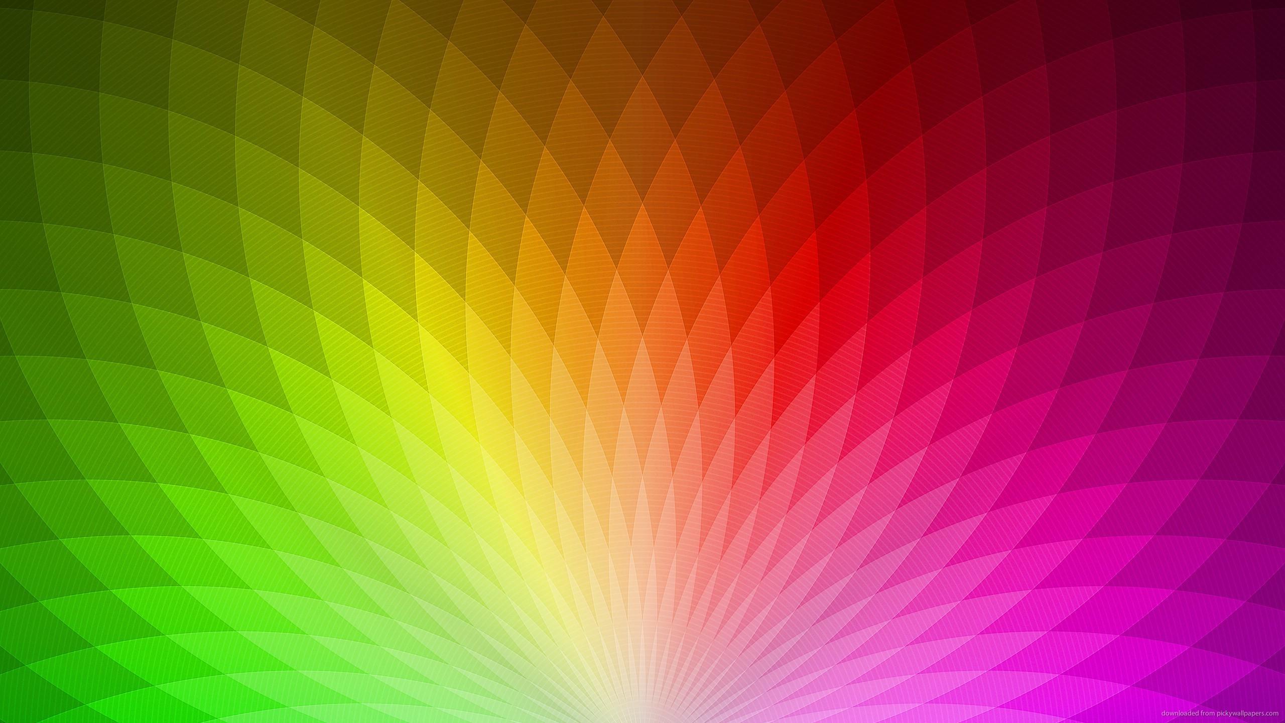 Rainbow Pattern wallpaper 2560x1440 2560x1440