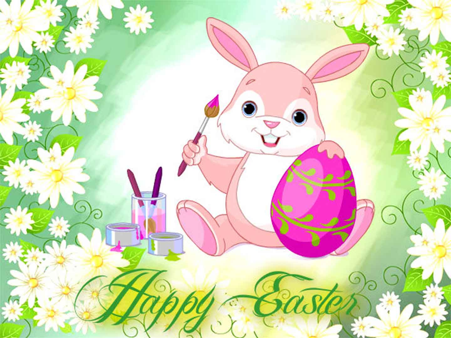Pics Photos   Cute Happy Easter Wallpaper Cute Happy 1440x1080