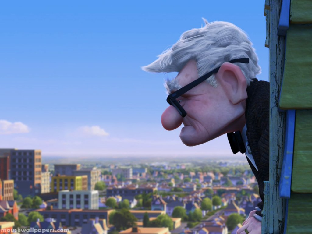 Wallpaper up carl fredricksen normal wallpaper Disney Wallpaper 1024x768