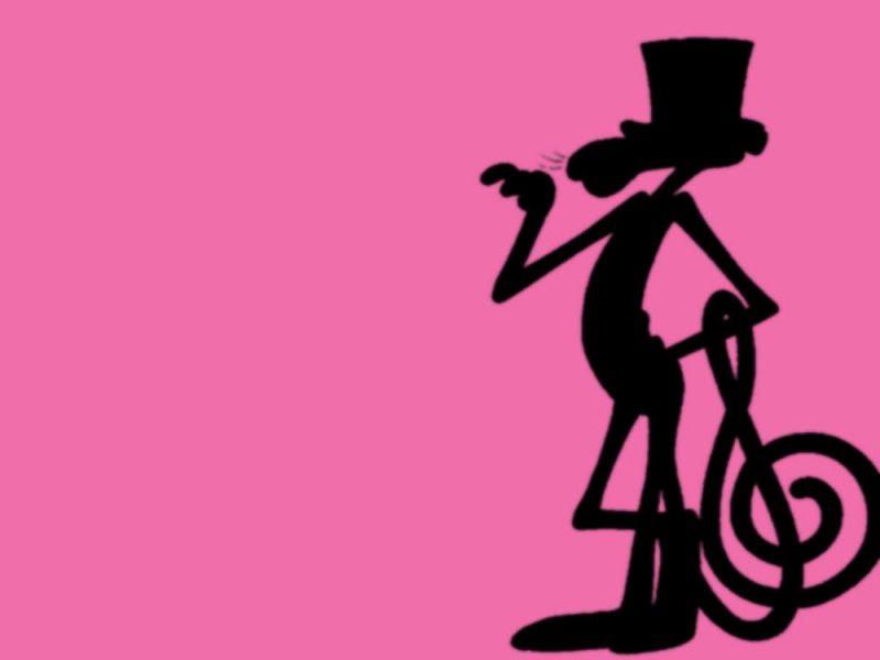 Ipanther Pink Panther Siluet wallpaper download 800x600