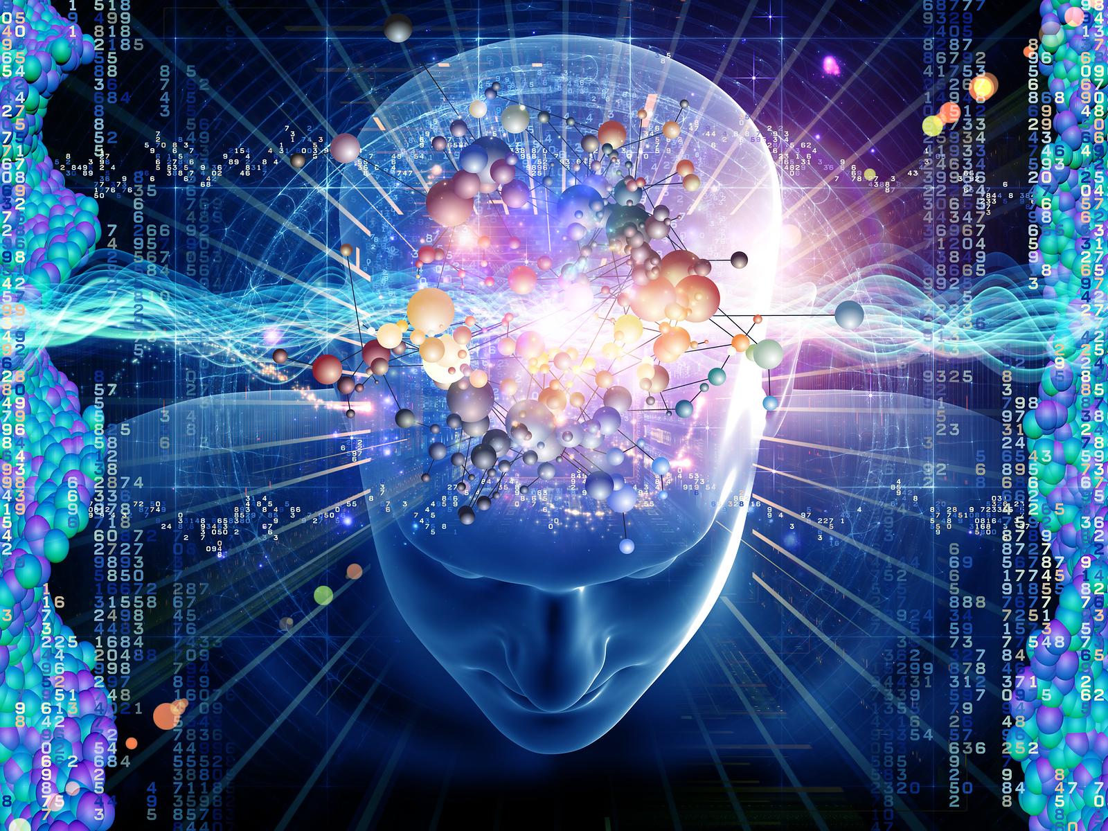Molecular Thoughts Gazing Girl 1600x1200