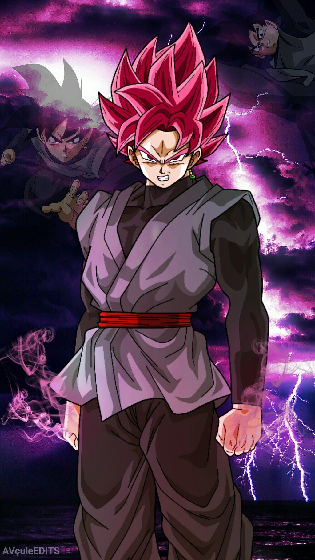 Free Download Black Goku Super Saiyan Rose Ssjr By Abhinavthecule