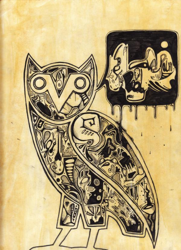 Ovo Owl Drakes ovo owl by fionly 600x826