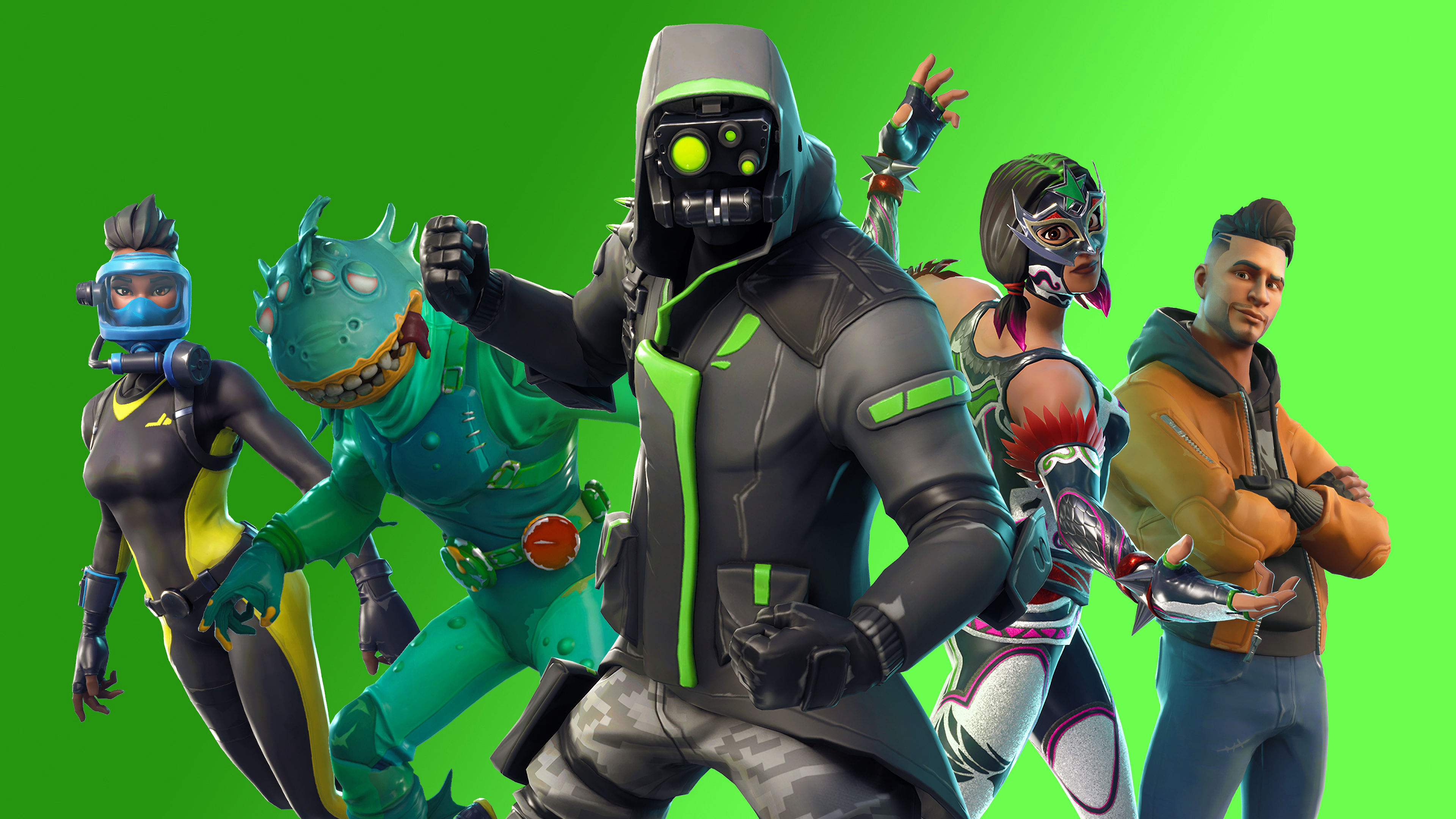 Fortnite Battle Royale Season 6 HD Games 4k Wallpapers Images 3840x2160
