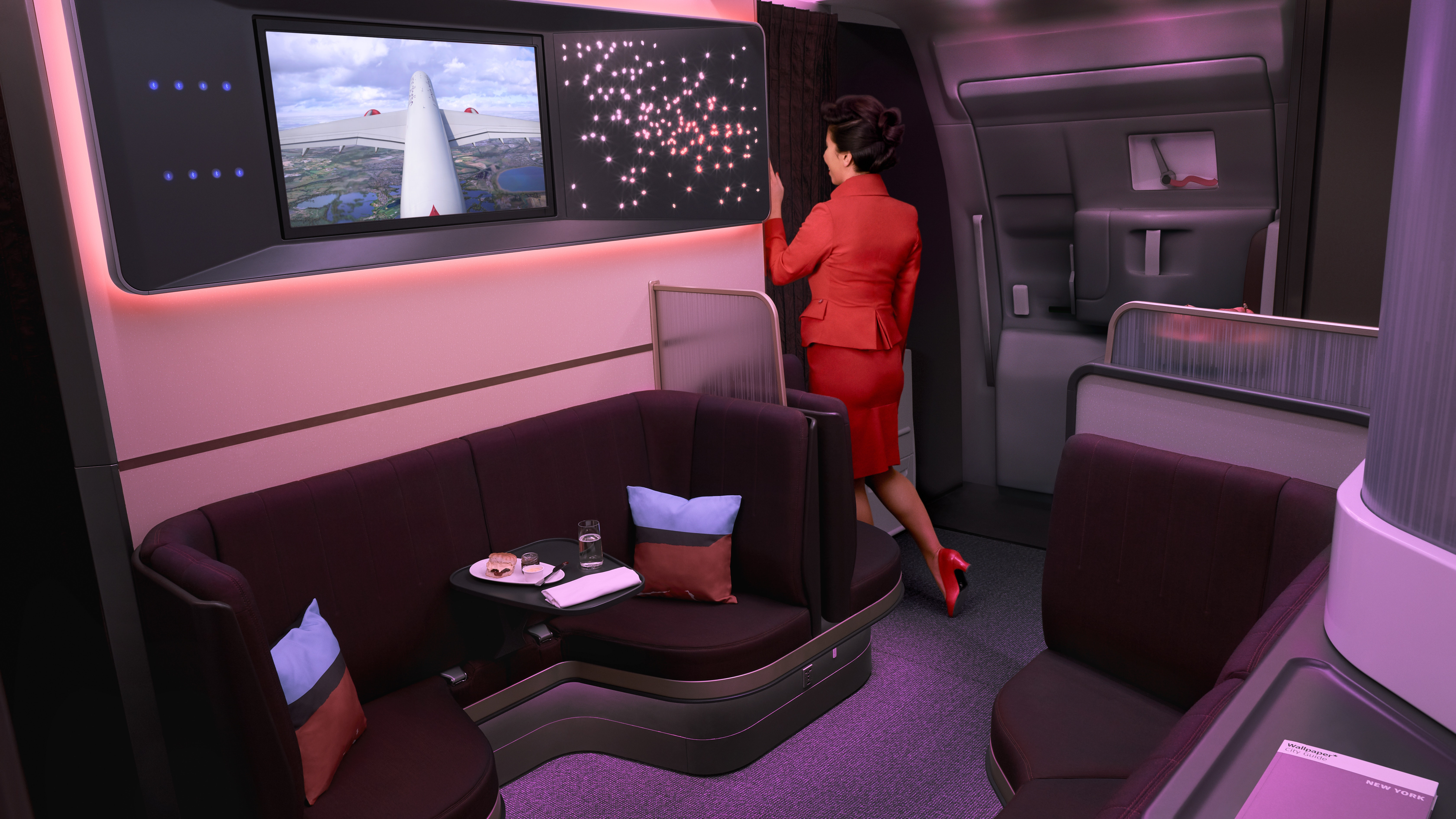 Virgin Atlantic replaces on board bar with comfortable seating on 6720x3780