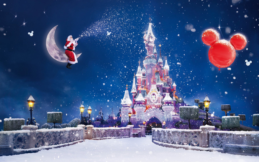 Disneyland Christmas Wallpaper Full Desktop Backgrounds 1024x640