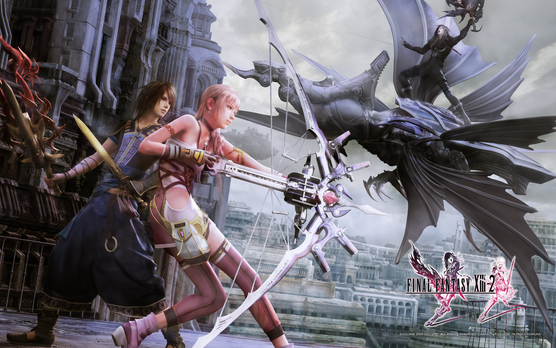 Final Fantasy XIII 2 FFXIII 2 FF13 2   Wallpapers 1920x1200