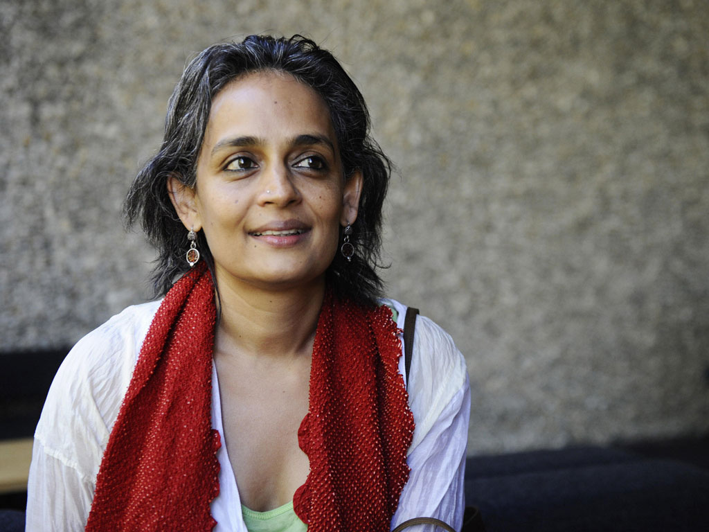 Arundhati Roy The next novel will just have to wait The 1024x768