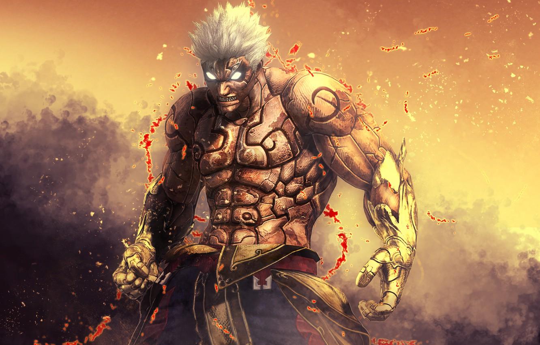 Wallpaper art background video game god asura asuras wrath 1332x850