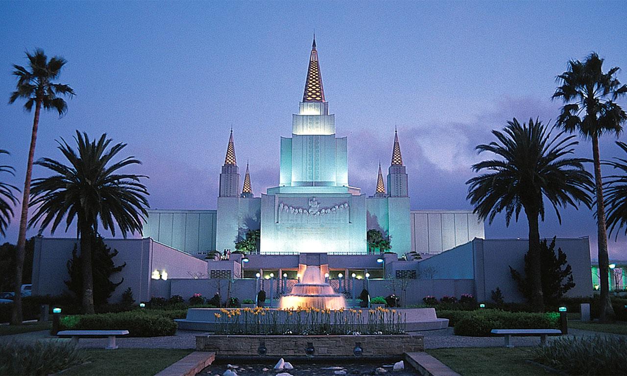 Oakland California LDS Mormon Temple Photograph Download 2 1280x768