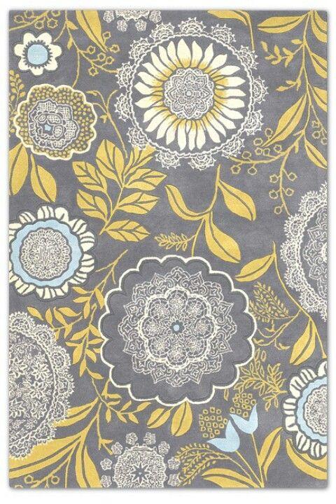 yellow and grey wallpaper wallpapersafari. Black Bedroom Furniture Sets. Home Design Ideas
