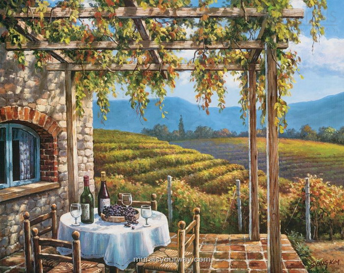scenic wall mural is part of scenic wall murals posted on scenic mural 700x555