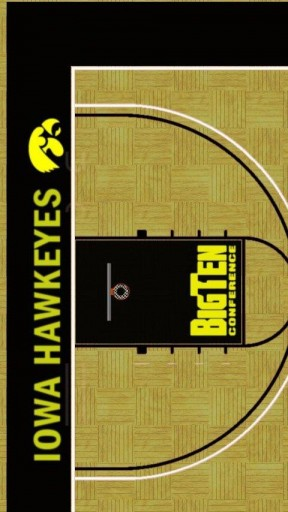 Iowa Hawkeyes Basketball App for Android 288x512