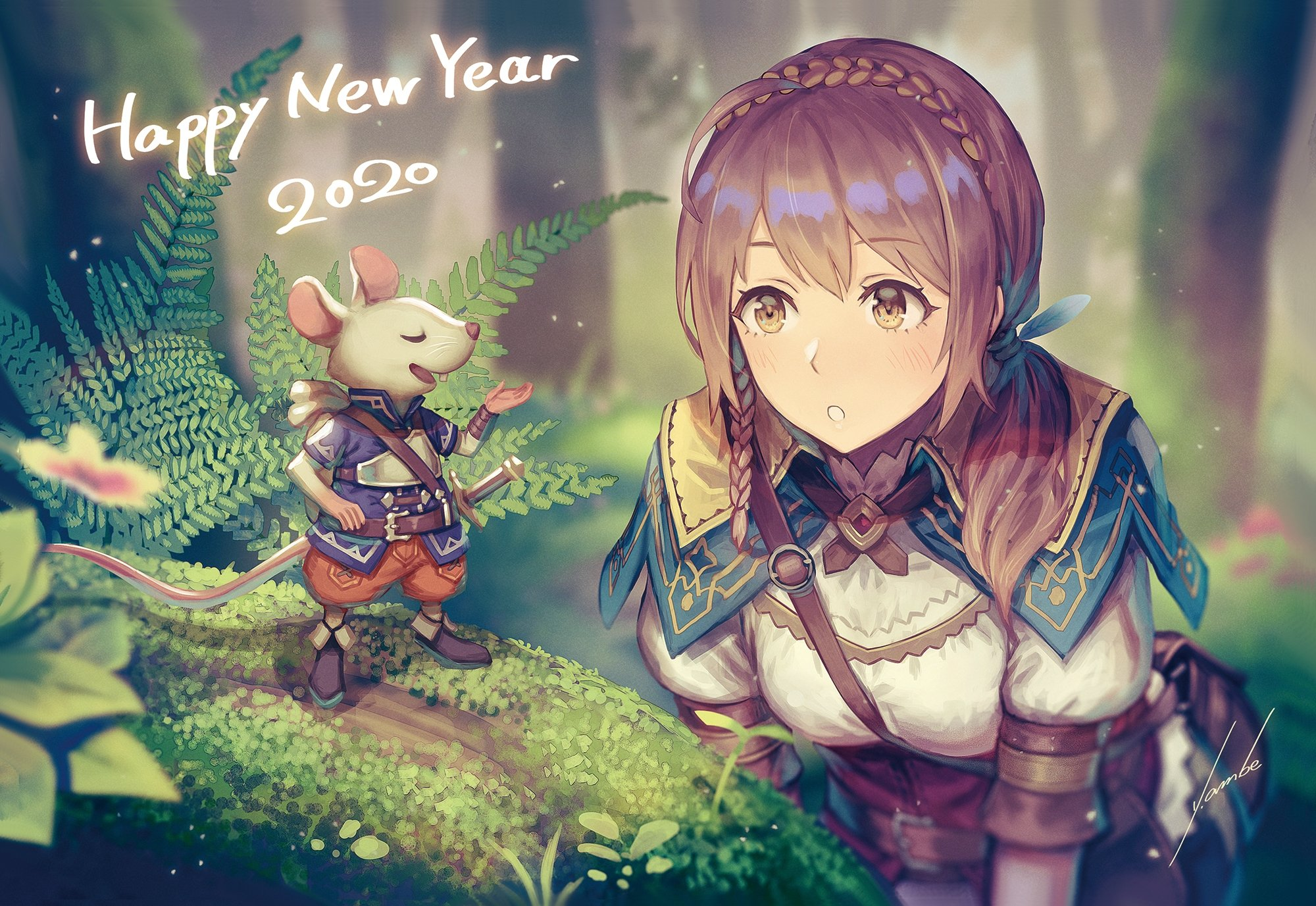45] Happy New Year 2020 Anime Girl Wallpapers on WallpaperSafari 2000x1377