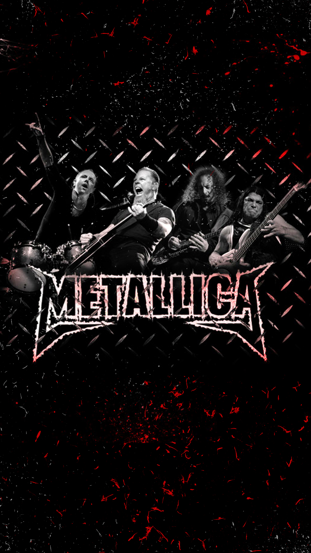 Metallica Rock Band HD Android Wallpaper 1080x1920