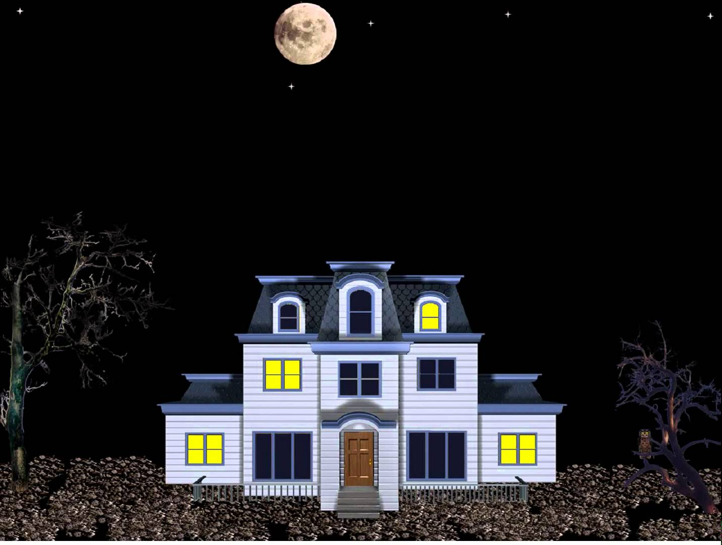 Haunted House Wallpaper and Screensavers Haunted Mansion Screensaver 1430x1080