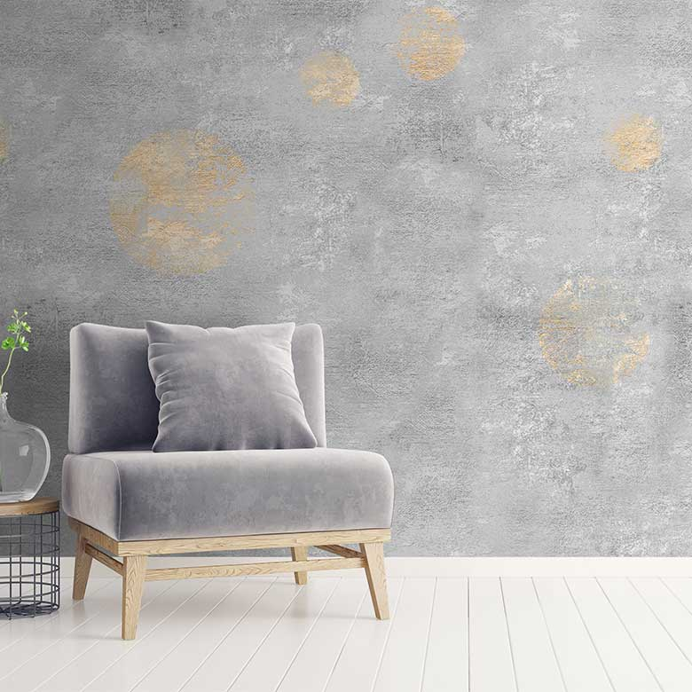 Shabby chic wallpapers get a modern makeover with our range of 780x780