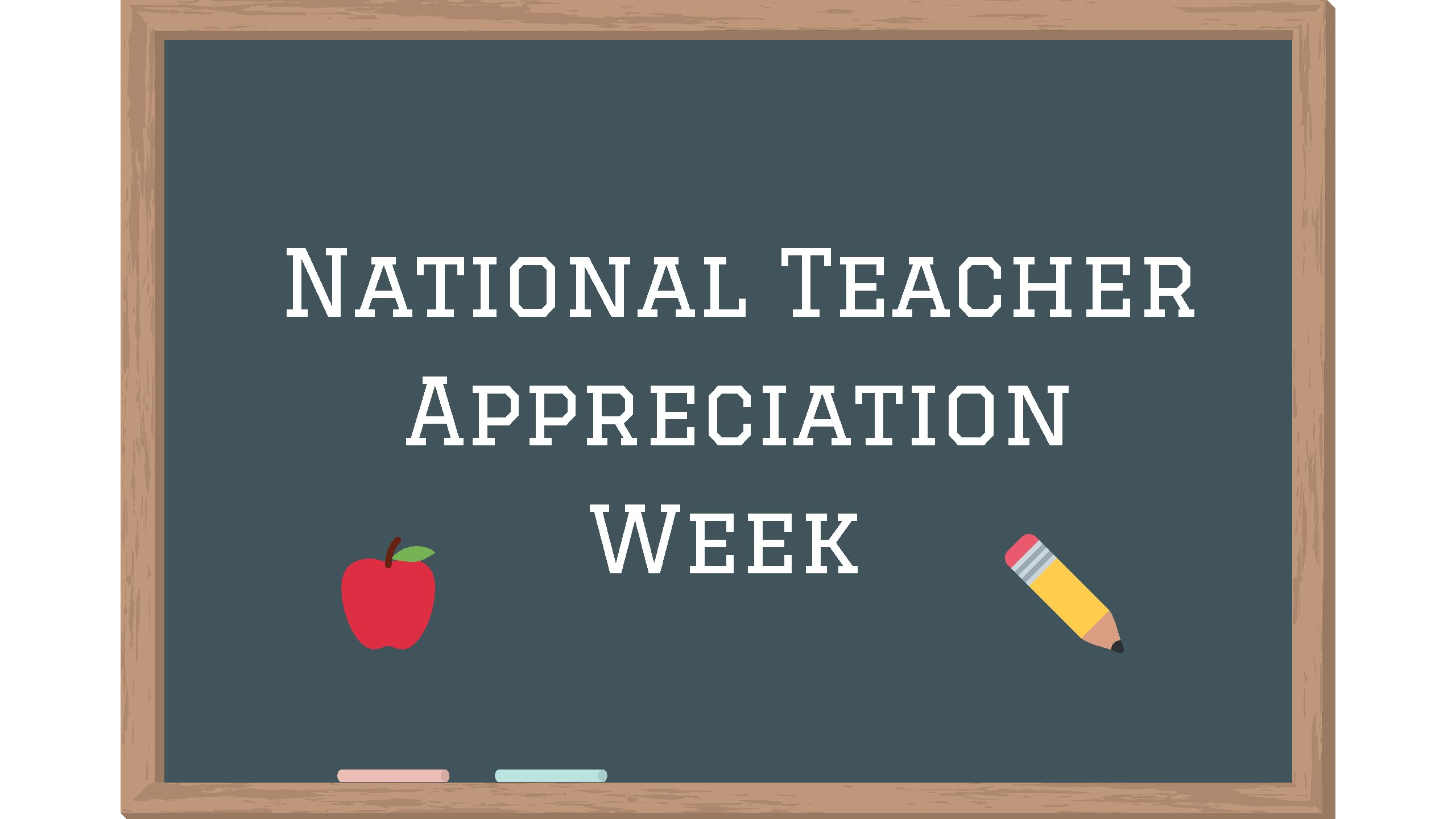 Students acknowledge teachers during National Teacher Appreciation 2560x1440