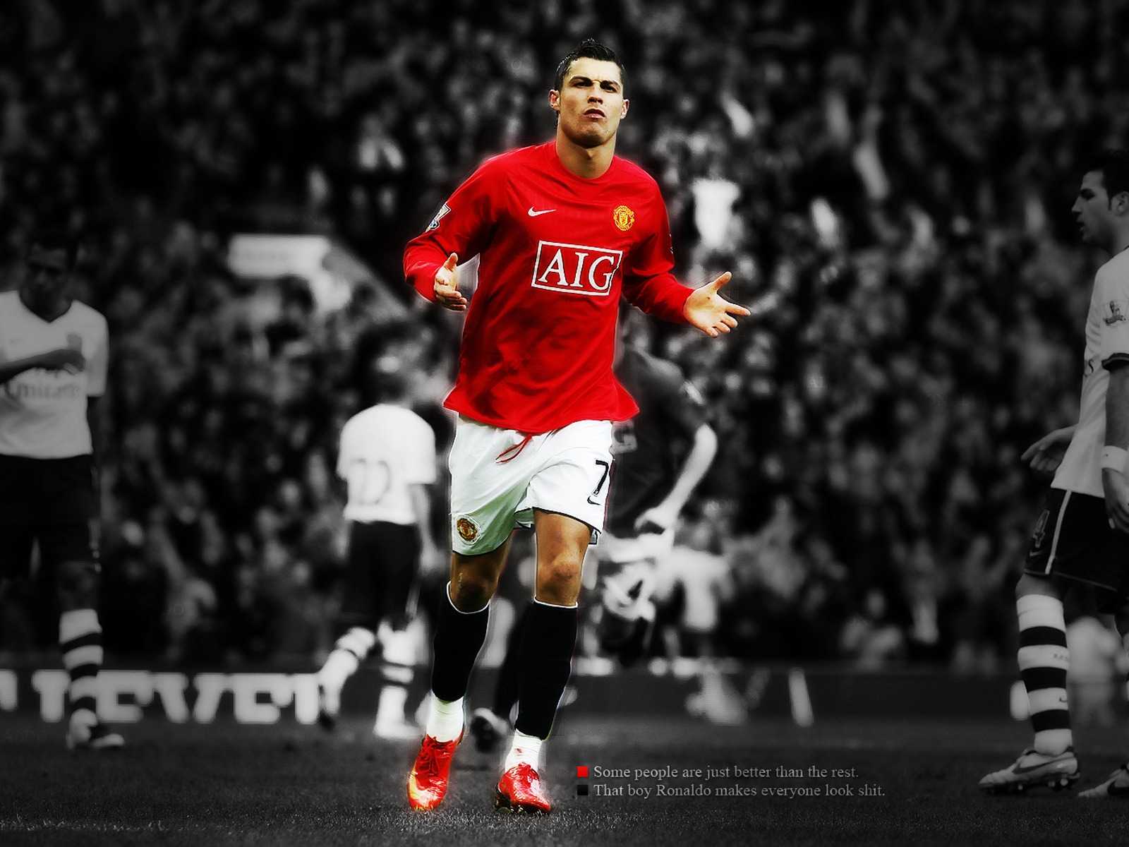 Cristiano Ronaldo Quotes Wallpaper QuotesGram 1600x1200