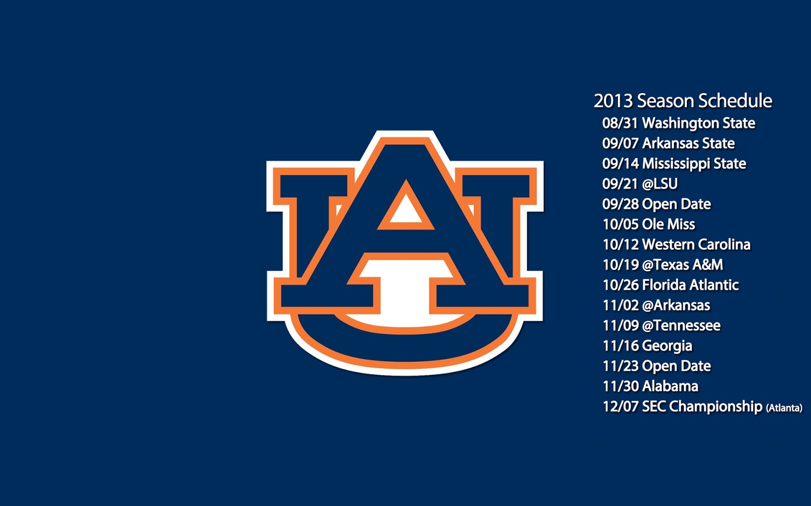 Auburn football wallpaper   beautiful desktop wallpapers 2014 1600x1000