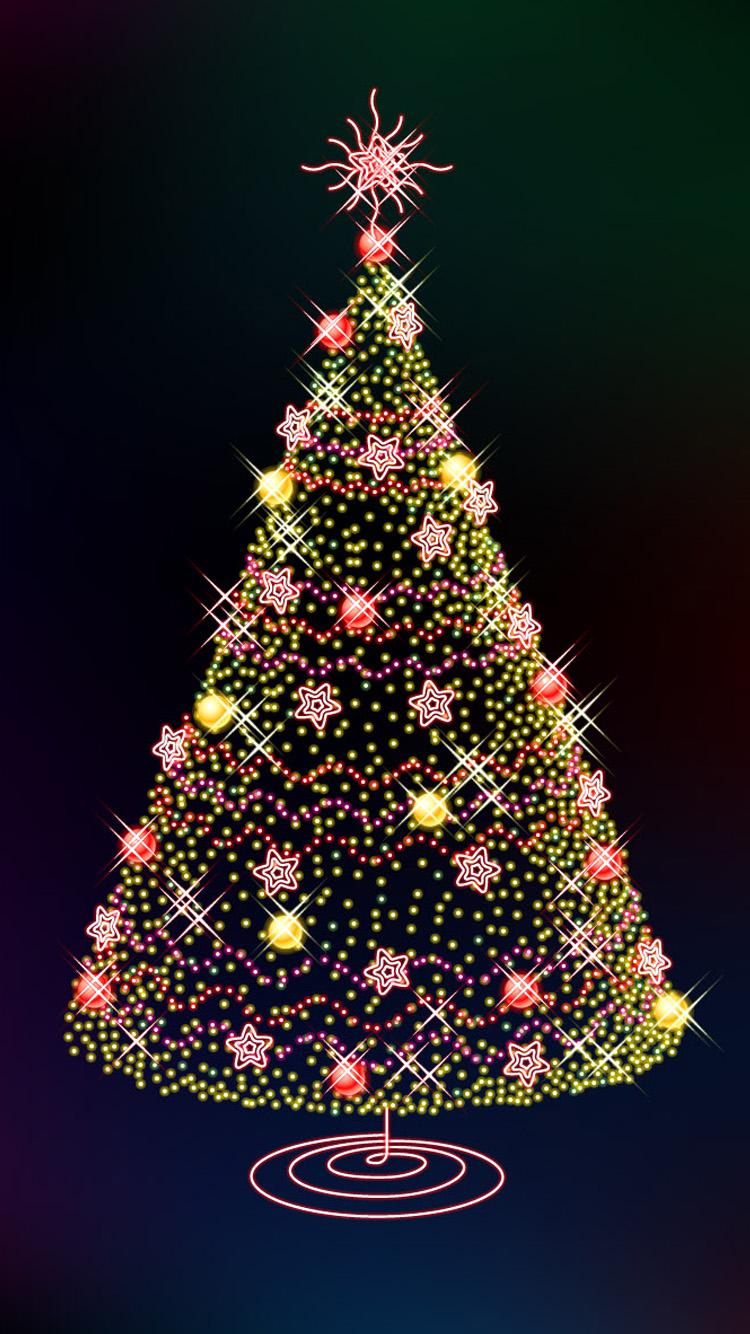 2015 Christmas Tree iPhone 6 Wallpaper HD iPhone 6 Wallpaper 750x1334