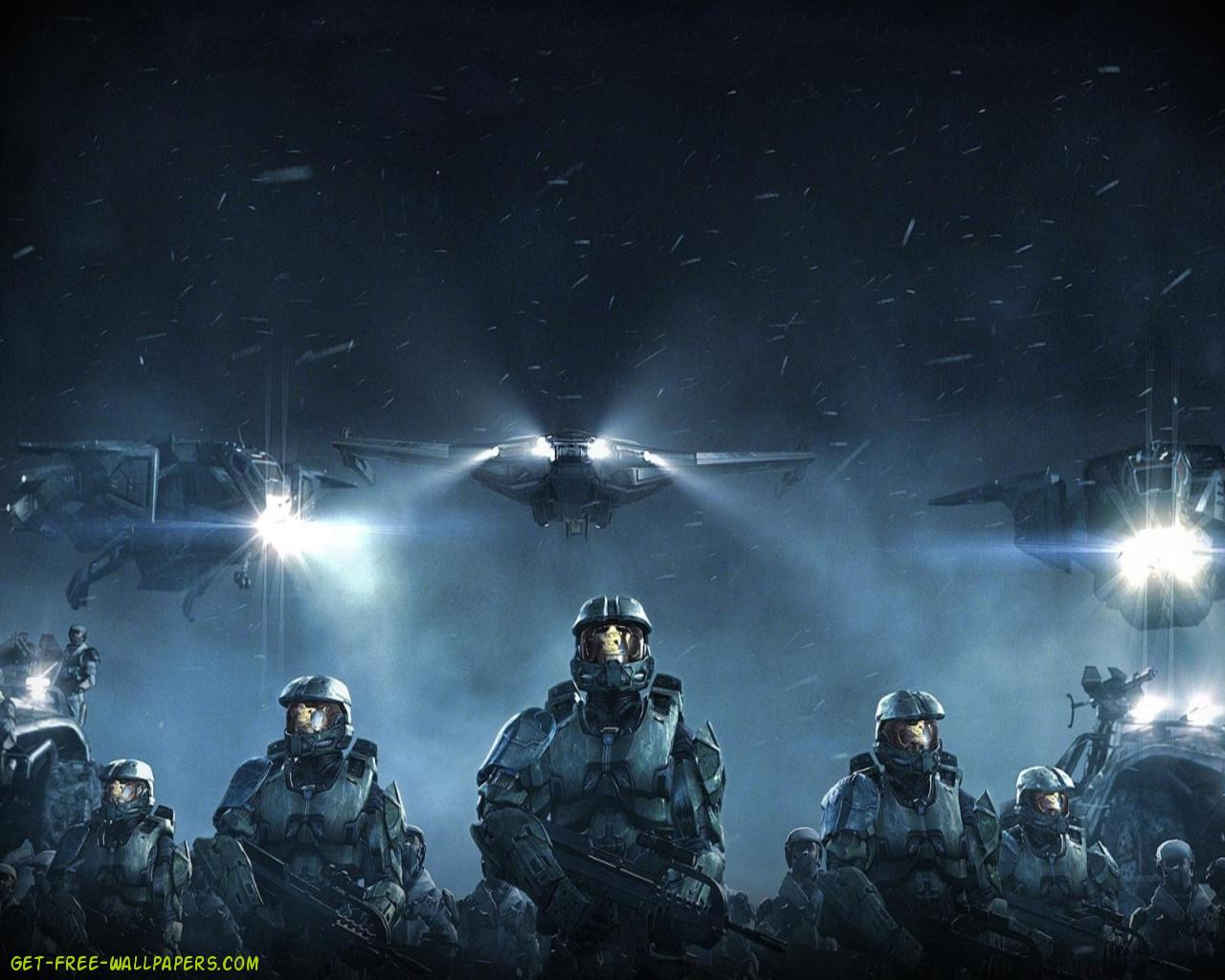 Download Halo Wars Wallpaper 1280x1024