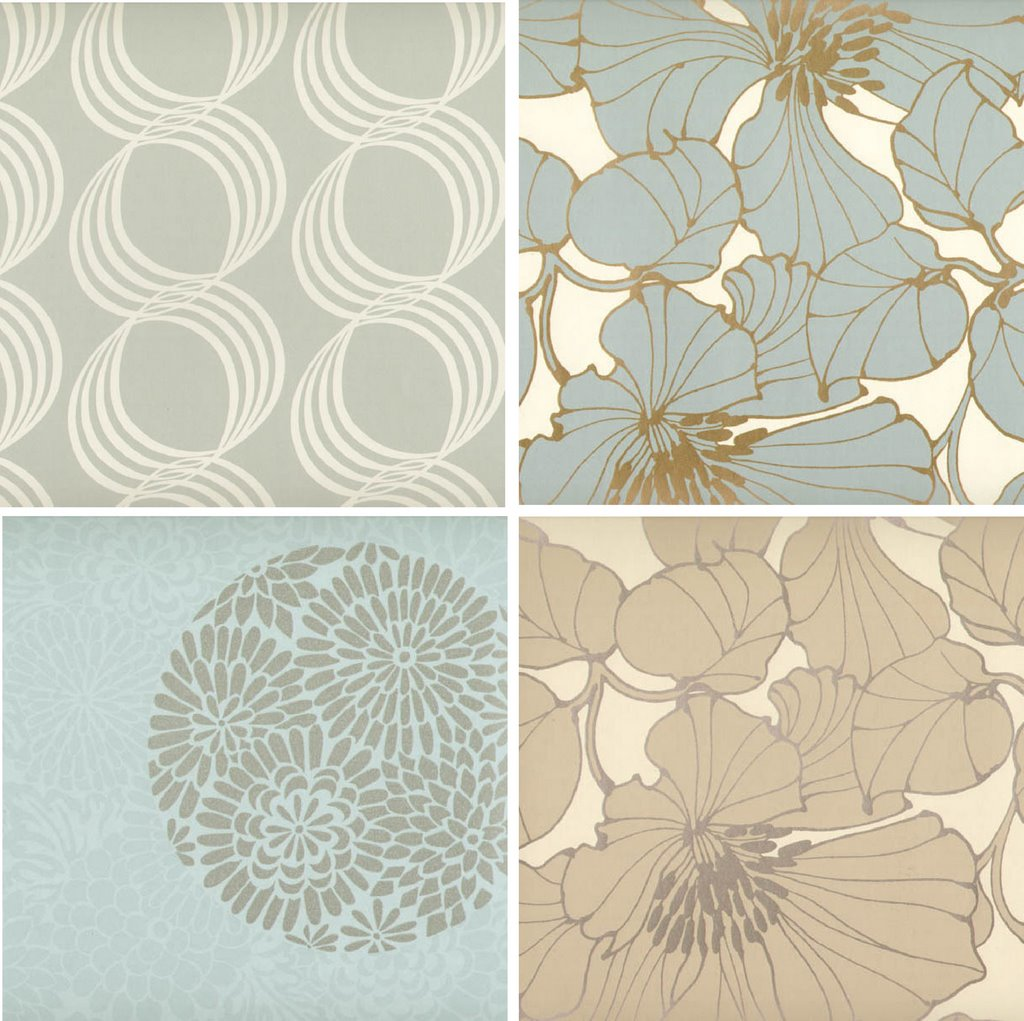 beautiful wallpaper patterns from harlequin 1024x1021