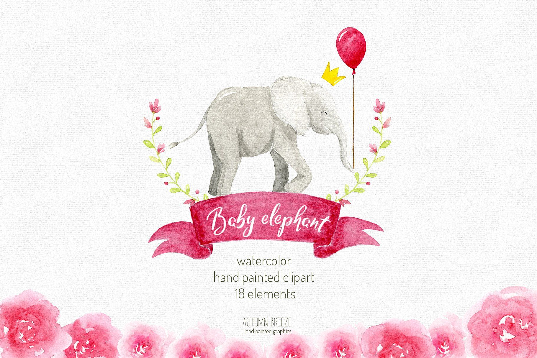 watercolor baby elephant clipart transparentimagessaved 1820x1214