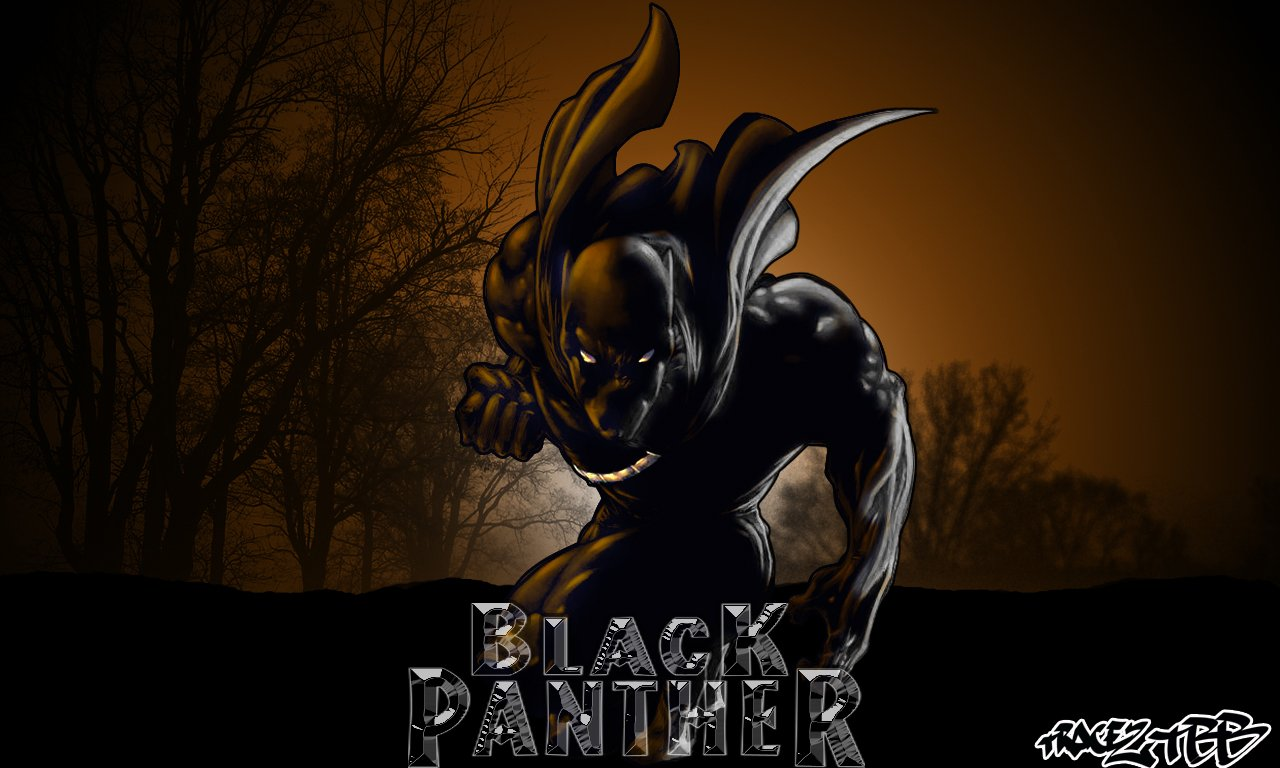 Black Panther Marvel Wallpaper 1280x768 pixel Popular HD Wallpaper 1280x768