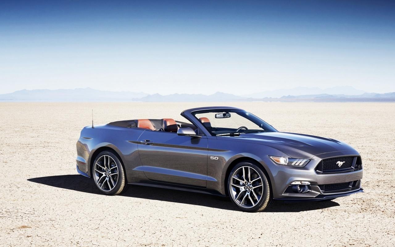 2015 Ford Mustang Convertible Wallpaper HD Car Wallpapers 1280x800