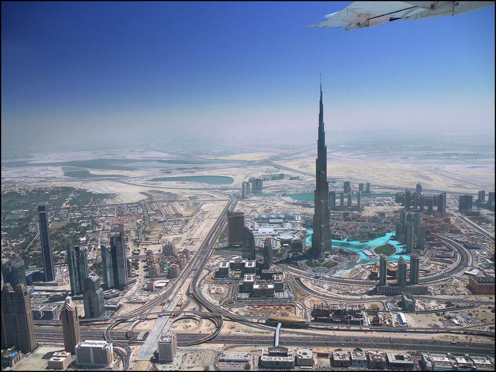 HD wallpaper Burj Dubai Desktop Wallpaper Wallpapers Skyline City Of 1024x768