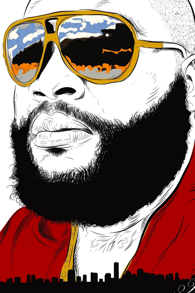 Rick Ross Wallpaper For Iphone 640x960