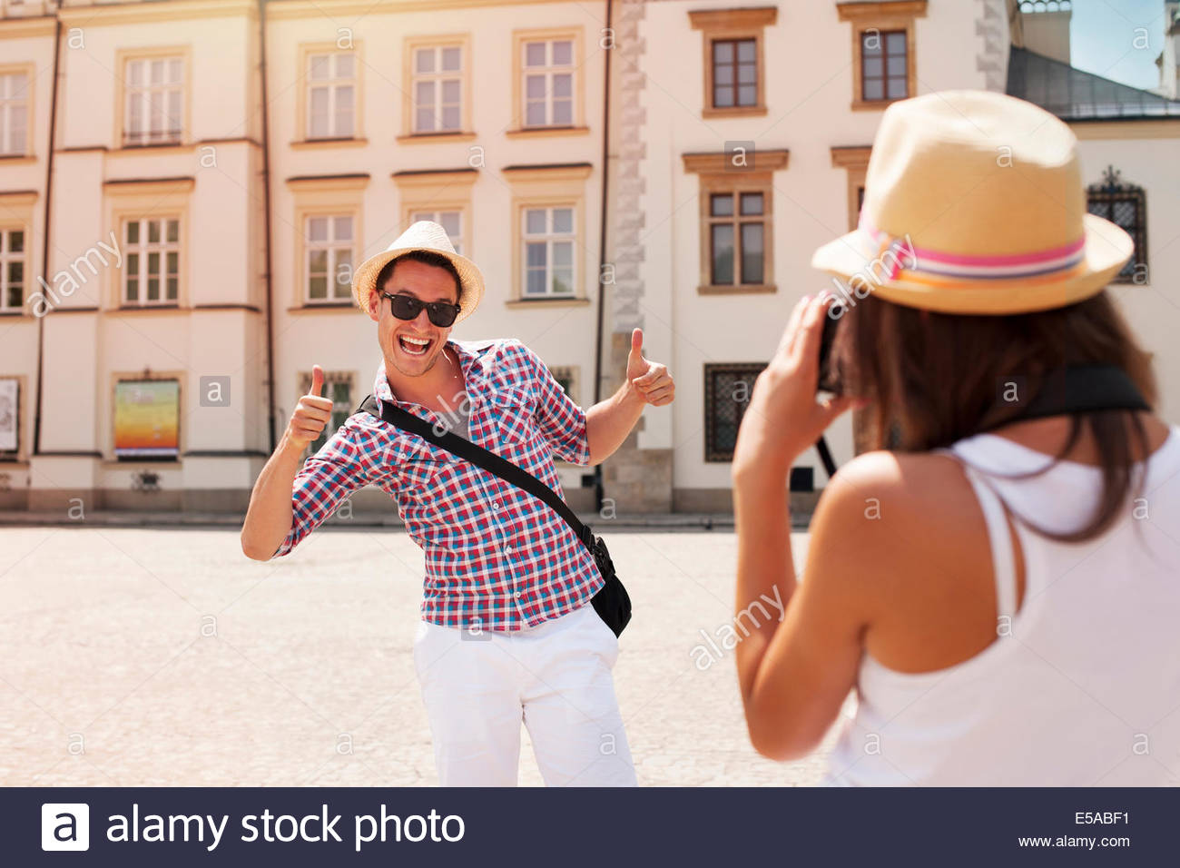 Funny Man Posing For A Photo Stock Photos Funny Man Posing For A 1300x956