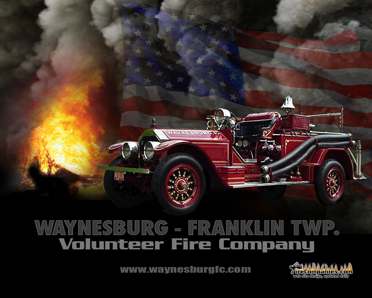 Volunteer Firefighter Logo Wallpaper Volunteer fire company 1280x1024