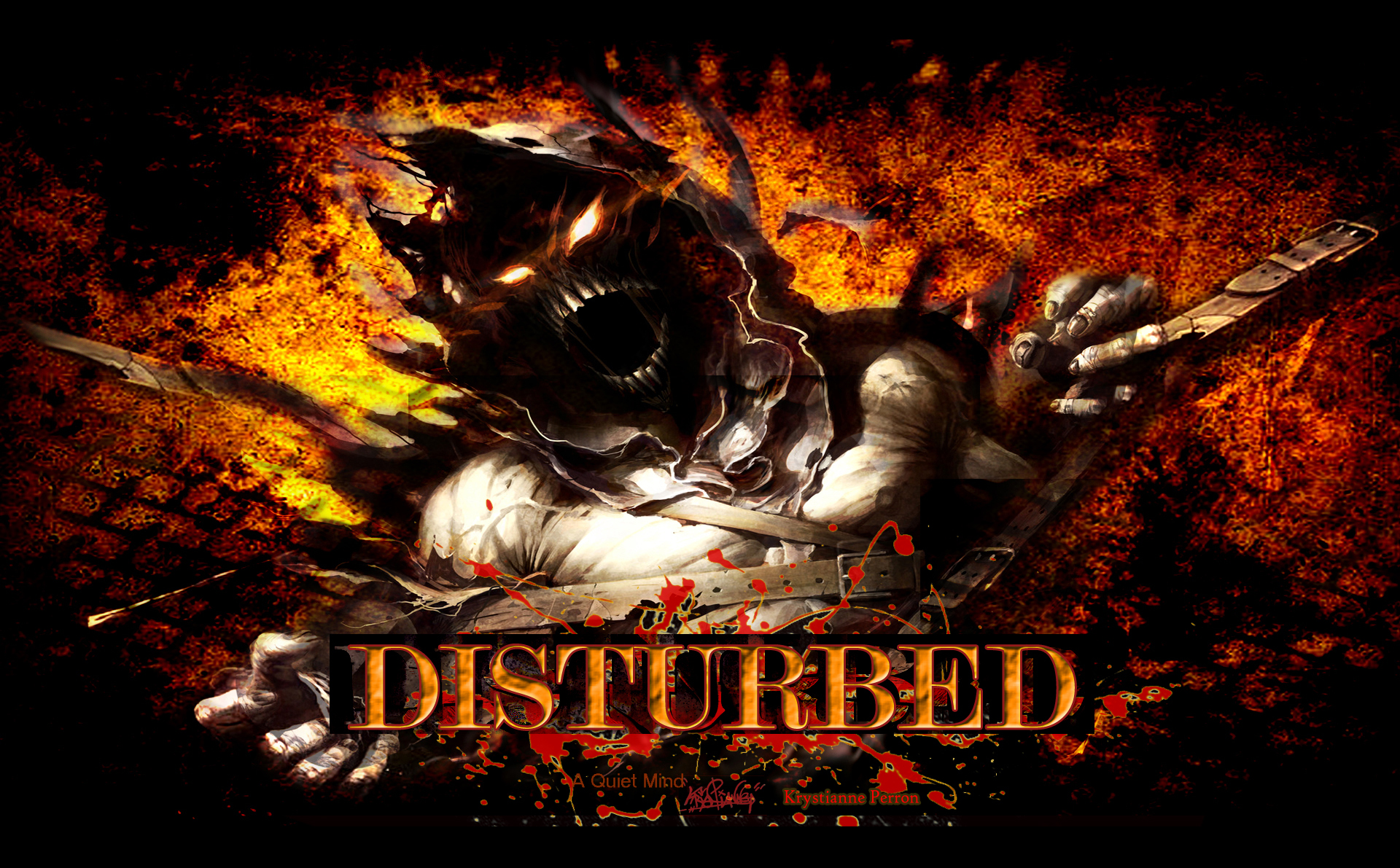 Disturbed wallpaper   ForWallpapercom 1920x1191