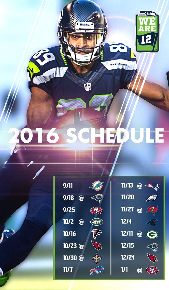 2016 Seattle Seahawks Wallpaper