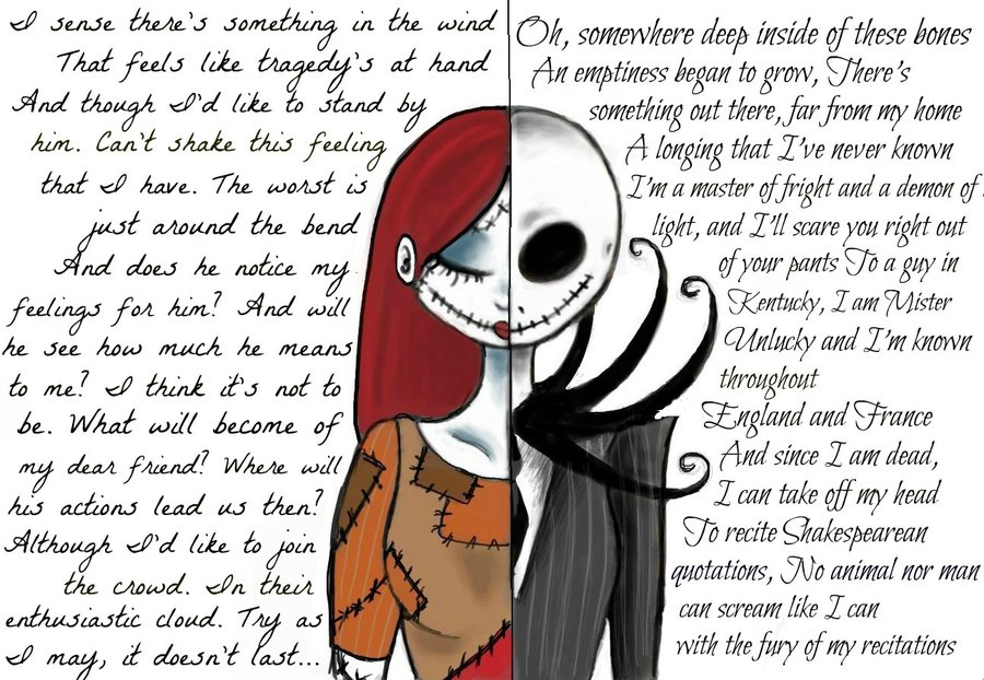download sally and jack nightmare sally and jack [900x622 900x622