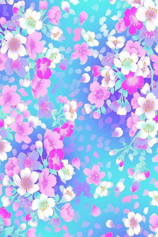 iphone wallpapers hd awesome colorful flowers iphone 4s wallpapers 640x960
