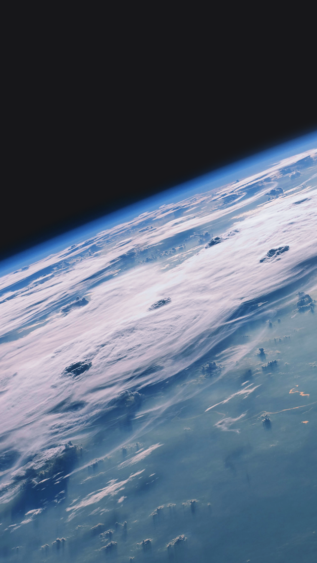 Earth Surface Satellite View Wallpaper   iPhone Wallpapers 640x1136