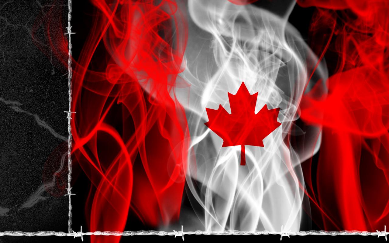 FunMozar Canada Flag Wallpapers 1280x800