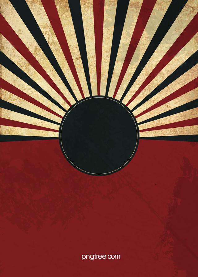 Red Black Retro Background Vintage Retro Background Radiation 640x896