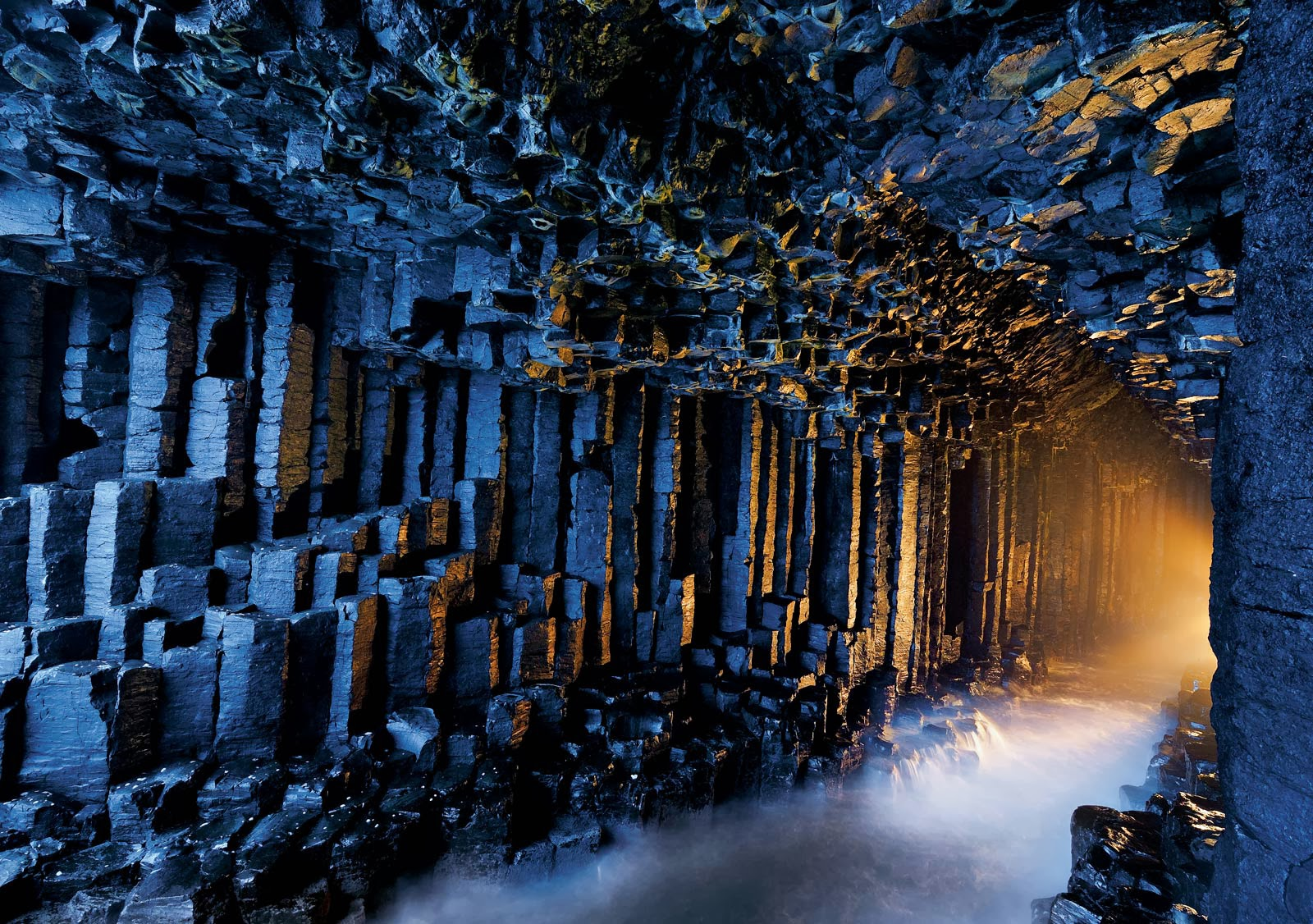 Fingals Cave Scotland HD Wallpapers   Top HD Wallpapers 1600x1126