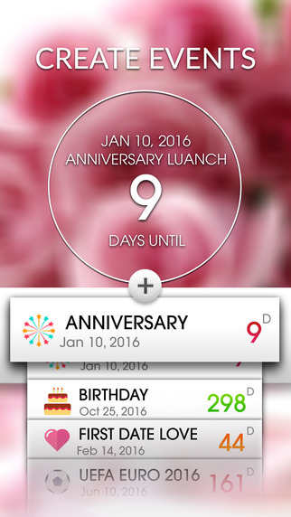 Event Countdown Beautiful Wallpaper   Wedding Pro App Store 322x572