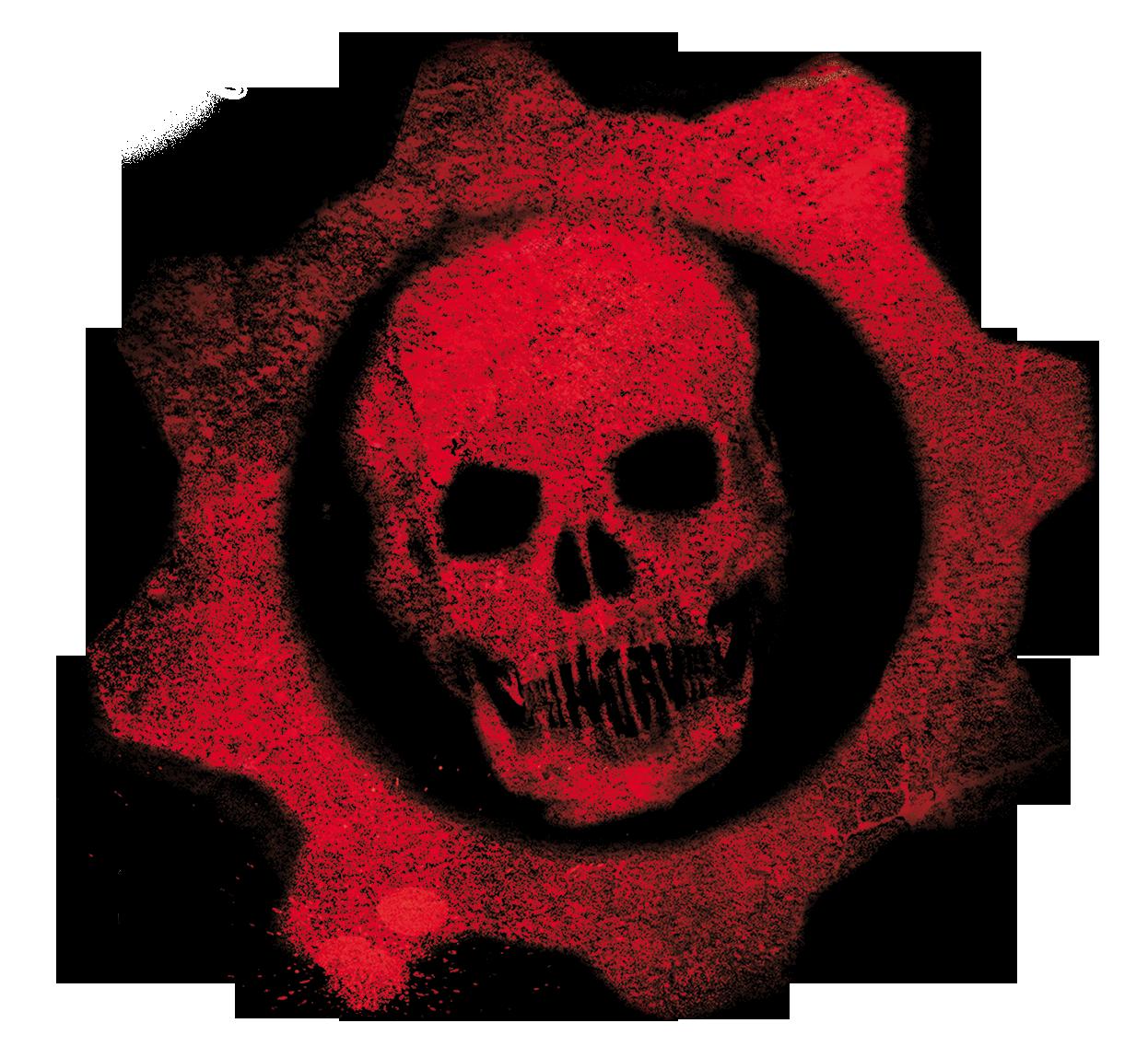 Gears of War Logo   Crimson Omen by AlexAKADucky 1246x1149