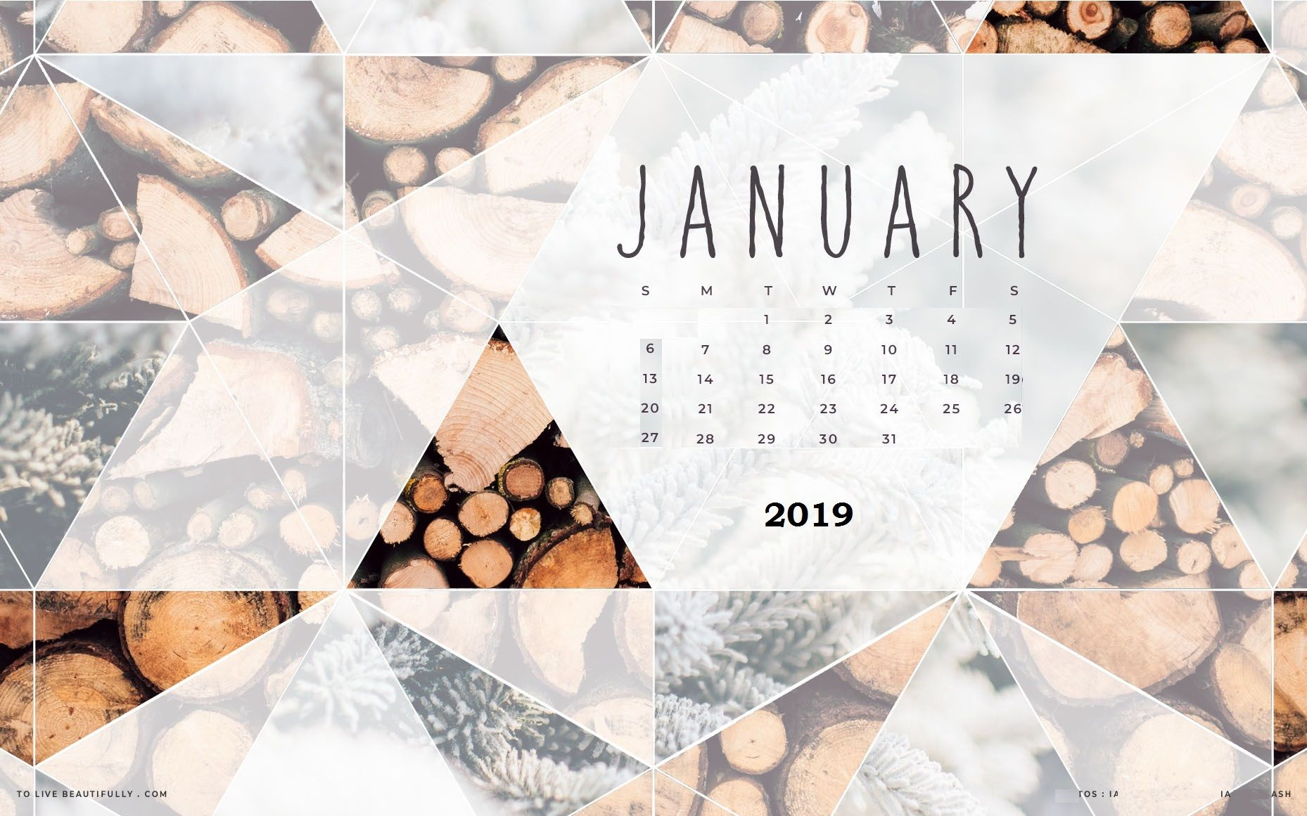Jan 2019 HD Wallpaper with Calendar desktop wallpaper in 2019 1858x1161